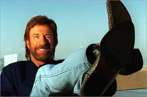 An interview with Chuck Norris