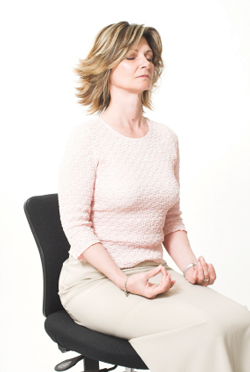 Yoga in the Office: A Quick and Effective Stretch